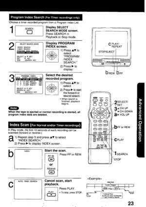 Panasonic Combination Vcr Pv C2010 Operating Instructions