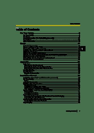 Panasonic Electronic Board Ub T880 Operating Instructions