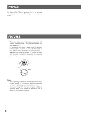 Panasonic Iris Camera Bm Et500 Operating Instructions