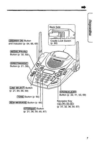 Panasonic Kx-tg2593b 2.4 Ghz Cordless Answering System