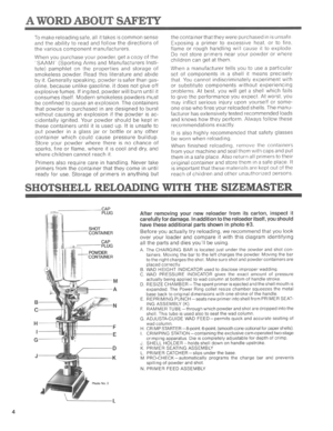 Mec Sizemaster Instructions Manual