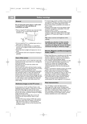 Philips 50pf9631d User Manual