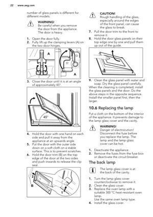 AEG Oven DC4013001M User Manual