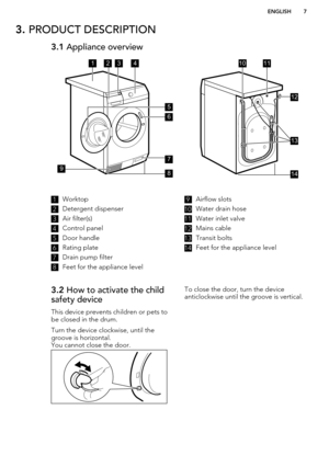 AEG Freestanding washer dryer L99695HWD User Manual