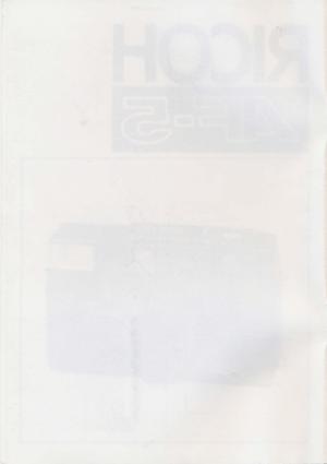 Ricoh Af 5 User Manual