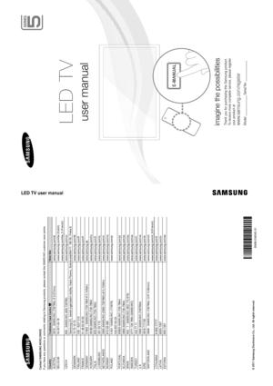 Samsung Ue 46d5520 Slovak Version Manual