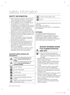 Samsung Rl 55 Vtebg User Manual