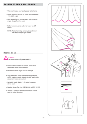 Singer Serger Professional 5 Manual