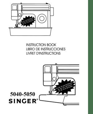 Singer 5050c Manual