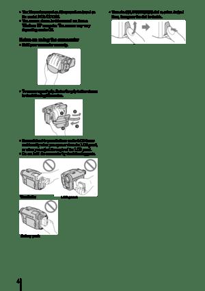 Sony Digital 8 Manual