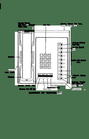 Toshiba Strata Vi Telephone User Guide
