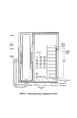 Toshiba Strata Vie Electronic Key Telephone System User Guide