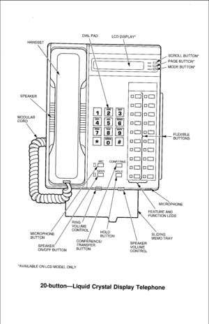 Toshiba Strata Dk24, Dk56, Dk96 Digital Key Telephone