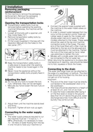 BEKO WKD 65105 User Manual