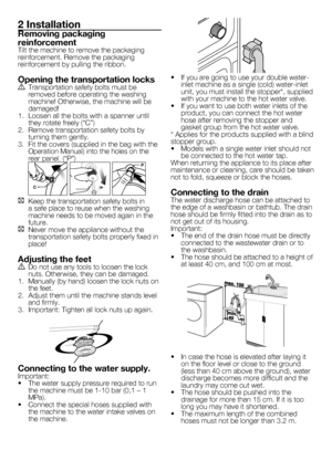 BEKO WMD 25145 T User Manual