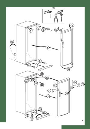 Beko Fse 24300 Dutch Version Manual