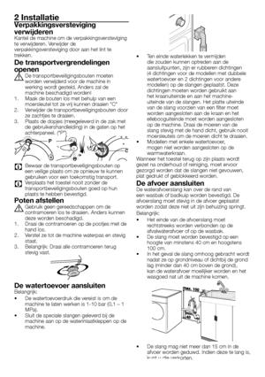 Beko Wmb 61431 Dutch Version Manual