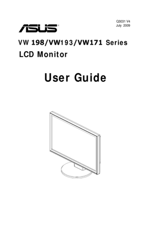 Asus Vw193dr User Guide