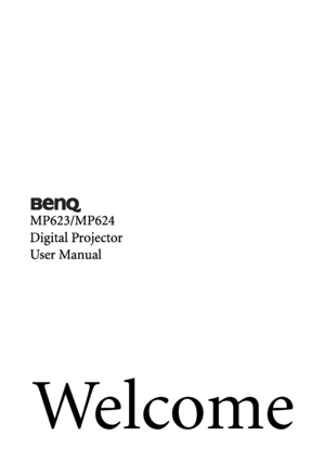 BenQ Mp623 Dlp Users Manual