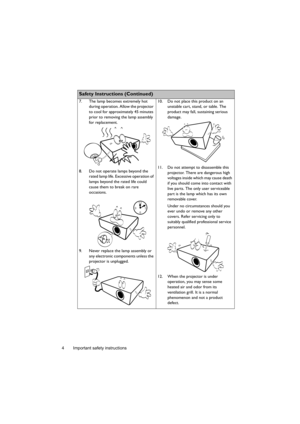 BenQ Projector MS502 User Manual