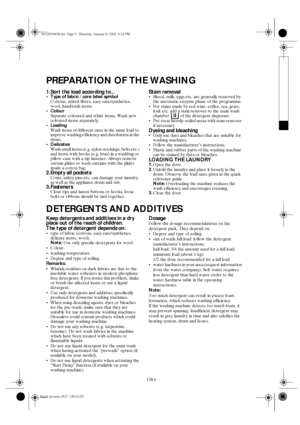Whirlpool AWG 310 D User Manual