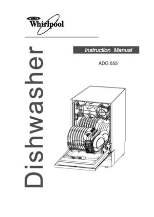 Whirlpool Adg 555 Ix Instruction Manual