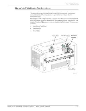 Xerox WorkCentre 3045 Service Manual