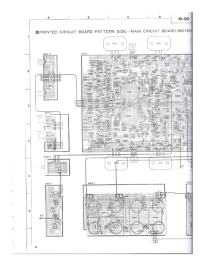 Yamaha M 80 Service Manual