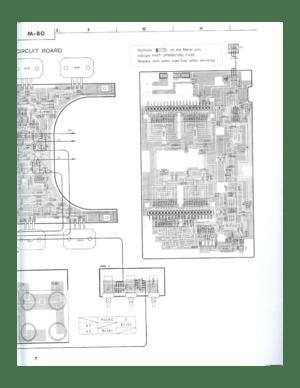 Yamaha M 80 Service Manual