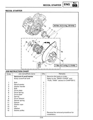 Yamaha EF1000 Service Manual