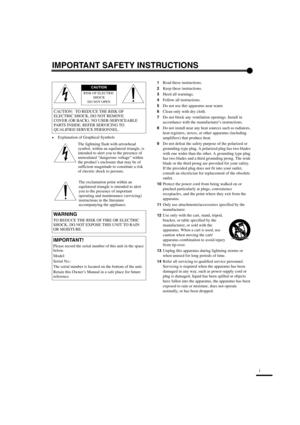 Yamaha Lpx 510 User Manual