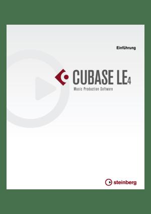 Steinberg Cubase LE 4 Getting Started German Version Manual