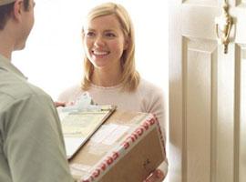 International parcel service USA
