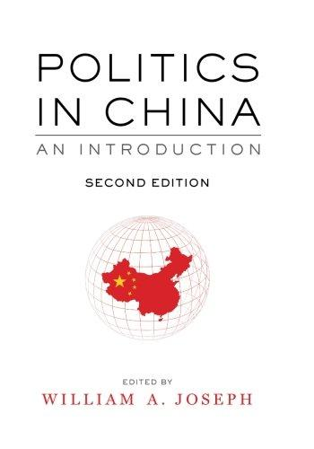 Politics in China: An Introduction, Second Edition 2nd