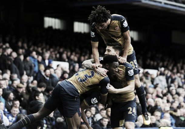 Everton 0-2 Arsenal: Welbeck and Iwobi on scoresheet as Gunners victorious in style