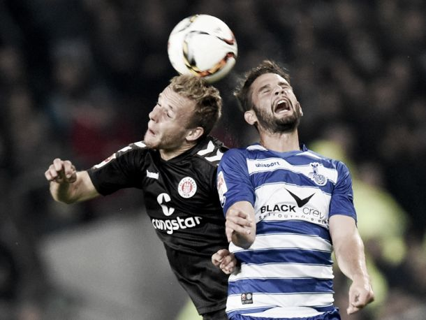 St. Pauli 2-0 MSV Duisburg: Hosts' attacking quality sees them squeeze past the Zebras