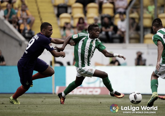 Bétis vence Werder Bremen com gol solitário de Nahuel Leiva em amistoso