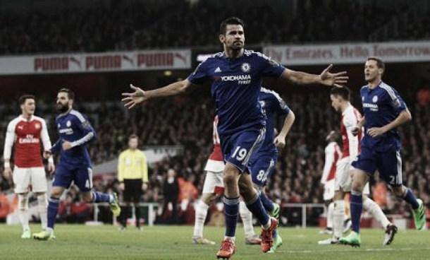 Arsenal 0-1 Chelsea: Costa sinks Gunners after Mertesacker's costly dismissal