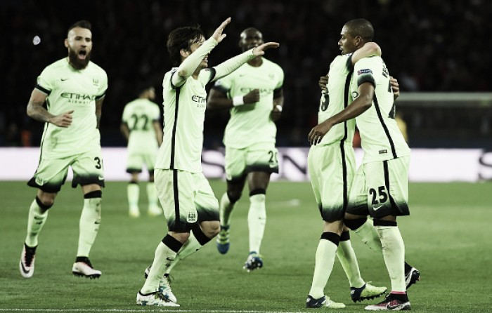 Paris Saint-Germain 2-2 Manchester City: de Bruyne and Fernandinho strike in four-goal thriller