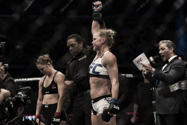 UFC 193: Holly Holm shocks Ronda Rousey in huge upset