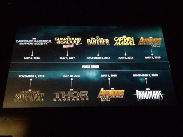 Marvel Announces 9 Movies For Its Cinematic Universes