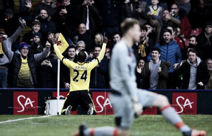 Watford 2-1 Newcastle United: Hornets end losing streak despite nervy finish