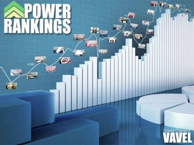 NHL Power Rankings 2018/19: semana 8