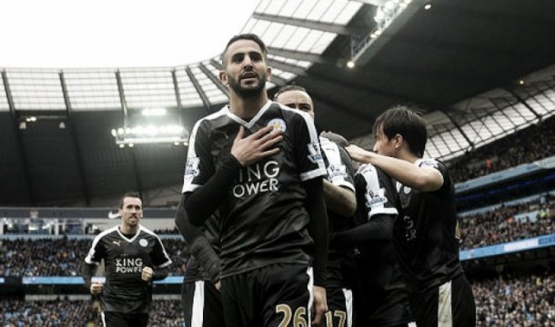 Manchester City 1-3 Leicester City: Huth and Mahrez help sink sleeping giants