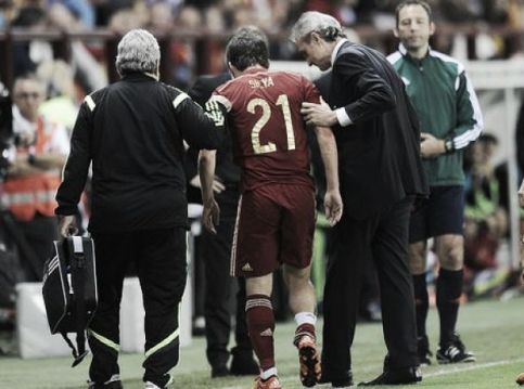 David Silva out for two to three weeks with ankle injury
