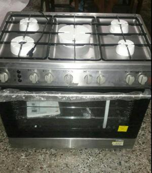 Cocina haier 5 hornillas en acero inoxidable  Posot Class