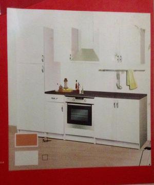Cocina empotrada 3 metros modular  Posot Class