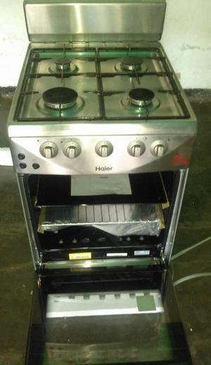 Cocina haier 4 hornillas plateada nueva  Posot Class