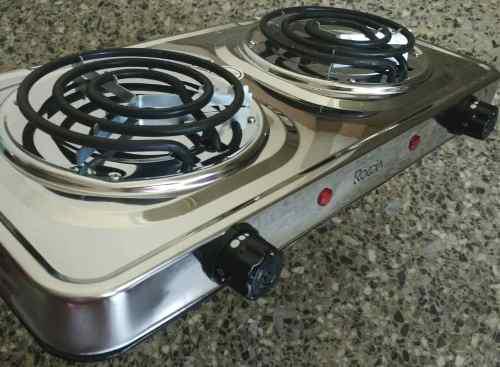 Cocina electrica de 2 hornillas  Posot Class