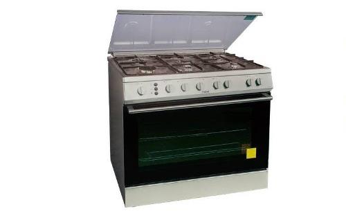 Cocina haier cromada 5 hornillas nueva  Posot Class